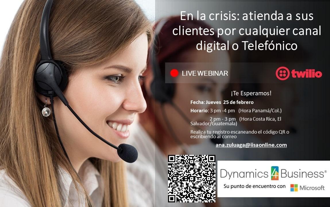 En la crisis: atienda a sus clientes por cualquier canal digital o telefónico