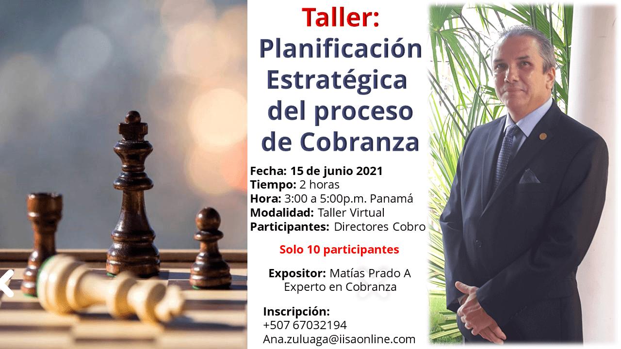 Taller: Planificación Estratégica de Procesos de Cobranza